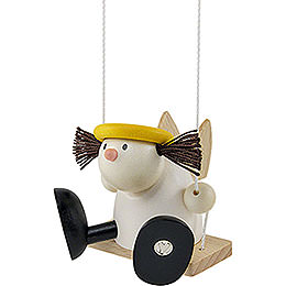Angel Lotte on Swing  -  7cm / 2.8 inch