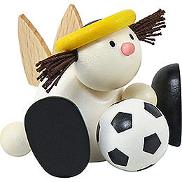 Angel Lotte with Football  -  7cm / 2.8 inch