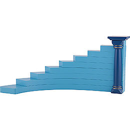 Angel Stairs left, Colored  -  16cm / 6.3 inch