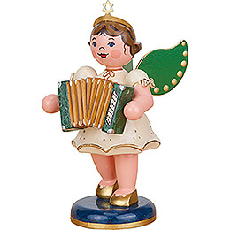 Angel with Accordion  -  10cm / 3.9 inch