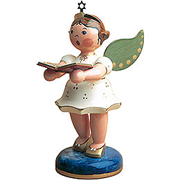 Angel with Songbook  -  16cm / 6 inch