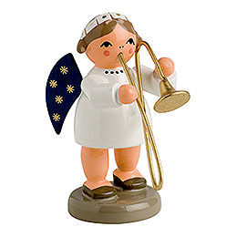Angel with Trombone  -  5cm / 2 inch