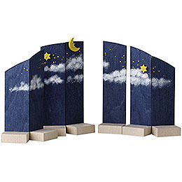 Background Night Sky  -  13cm / 5.1 inch