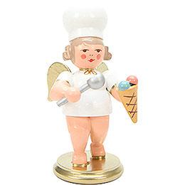 Bäckerengel mit Eistüte  -  7,5cm
