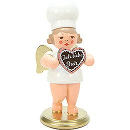 Bäckerengel mit Herz  -  7,5cm