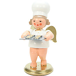 Baker Angel with Baking Tray  -  7,5cm / 3 inch