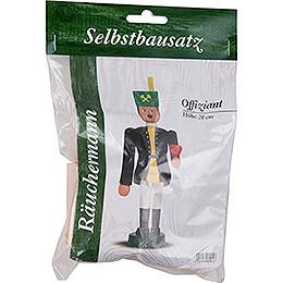 Bastelset Räuchermännchen Offiziant  -  20cm