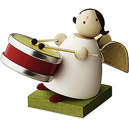 Big Band Guardian Angel with Small Drum  -  3,5cm / 1.3 inch