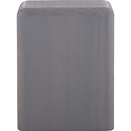 Block Medium Grey  -  8cm / 3.2 inch