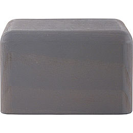 Block Small Grey  -  4cm / 1.6 inch