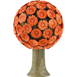 Blossom Tree Orange  -  6x4cm / 2.4x1.6 inch