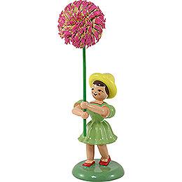 Blumenkind Chrysantheme, farbig  -  12cm