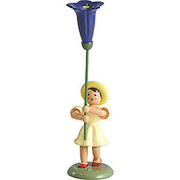 Blumenkind Enzian, farbig  -  12cm