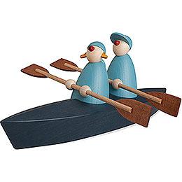 Bootspartie Zweier, hellblau  -  9cm