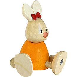 Bunny Emma Sitting  -  9cm / 3.5 inch