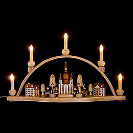 Candle Arch  -  Church of our Lady, Dresden  -  52x30x14cm / 20.4x11.8x5.5 inch