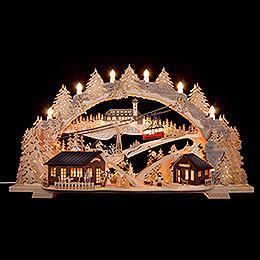 Candle Arch  -  Fichtelberg Idyll  -  72x43x15cm / 28.3x17x5.9 inch