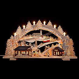 Candle Arch  -  Fichtelberg Idyll (variable)  -  72x43x15cm / 28.3x17x5.9 inch