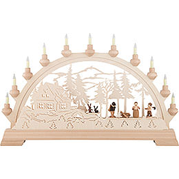Candle Arch  -  Forest House  -  65x40cm / 26x16 inch