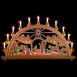 Candle Arch  -  Holy Night  -  68x35cm / 26.8x13.8 inch