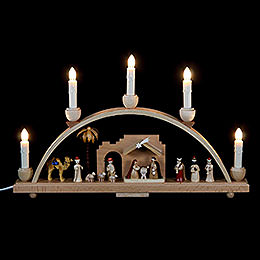 Candle Arch  -  Nativity Scene  -  19x11 inch  -  48x28cm / 11 inch