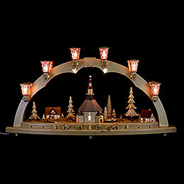 Candle Arch  -  Seiffen Church  -  80cm / 31 inch