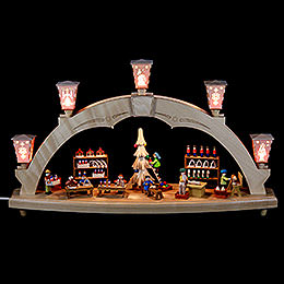 Candle Arch  -  The Erzgebirge Workshop  -  Electrical  -  48cm / 19 inch