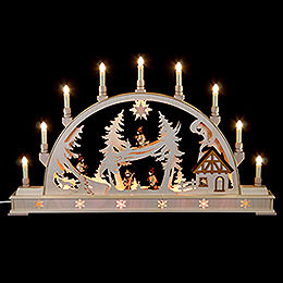 Candle Arch  -  Winterchildren  -  78x45cm / 31x18 inch