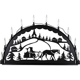 Candle Arch for Outside  -  Carriage  -  100 - 300cm / 40 - 120 inch