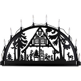 Candle Arch for Outside  -  Forest Hut  -  100 - 300cm / 40 - 120 inch