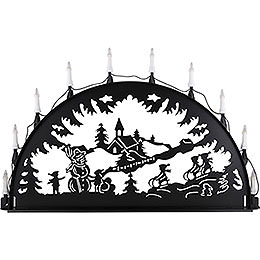 Candle Arch for Outside  -  Kids Sledging  -  100 - 300cm / 40 - 120 inch