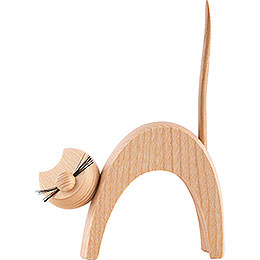 Cat Natural  -  Standing  -  13cm / 5.1 inch