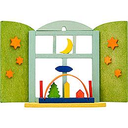 Christbaumschmuck Weihnachtsfenster Schwibbogen 6cm