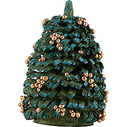 Christmas Tree with Golden Balls  -  6cm / 2.4 inch