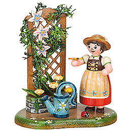 Country Idyll Sommer Flower Tendril  -  10cm / 3,9 inch