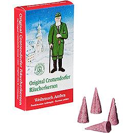 Crottendorfer Incense Cones  -  Frankincense Ambergris