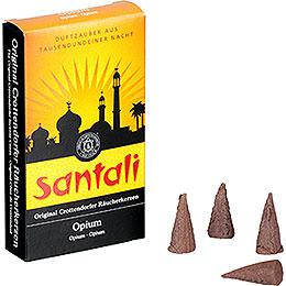 Crottendorfer Incense Cones  -  Santali Opium