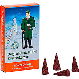 Crottendorfer Incense Cones  -  Winter Orange