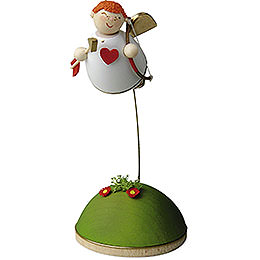 Cupid Floating on Stand  -  3,5cm / 1.3 inch