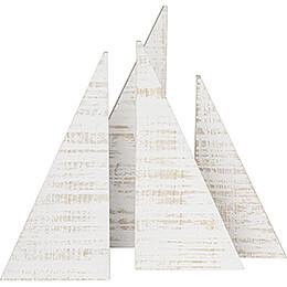 Dekobäume, 4 - teilig  -  35cm