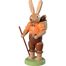 Easter Bunny (male) Hand - Painted  -  11cm / 4 inch
