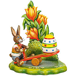 Easter Egg Teeter - Totter  -  12x10cm / 4,7x3,9 inch