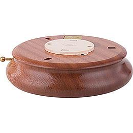 Electronic Bluetooth - powered Music Box Base  -  6cm / 2.4 inch, ø 18cm / 7.1 inch