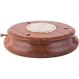 Electronic Bluetooth - powered Music Box Base  -  6cm / 2.4 inch, ø 18cm / 7.1 inch