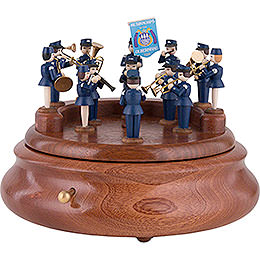 Electronic Music Box  -  Music Corps of Olbernhau  -  19cm / 7.5 inch