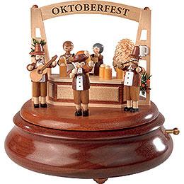 Elektronische Spieldose  -  Oktoberfest  -  19cm