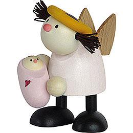 Engel Lotte mit Baby Mädchen  -  7cm