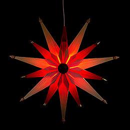 Fensterbild Weihnachtsstern Natur  -  47cm