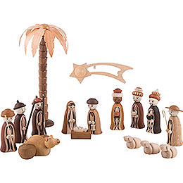 "Figurines ""Nativity"", incl. 1 Palm Tree, 1 Star with Tail"