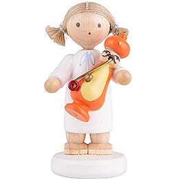 Flax Haired Angel with Smoker Turk  -  5cm / 2 inch